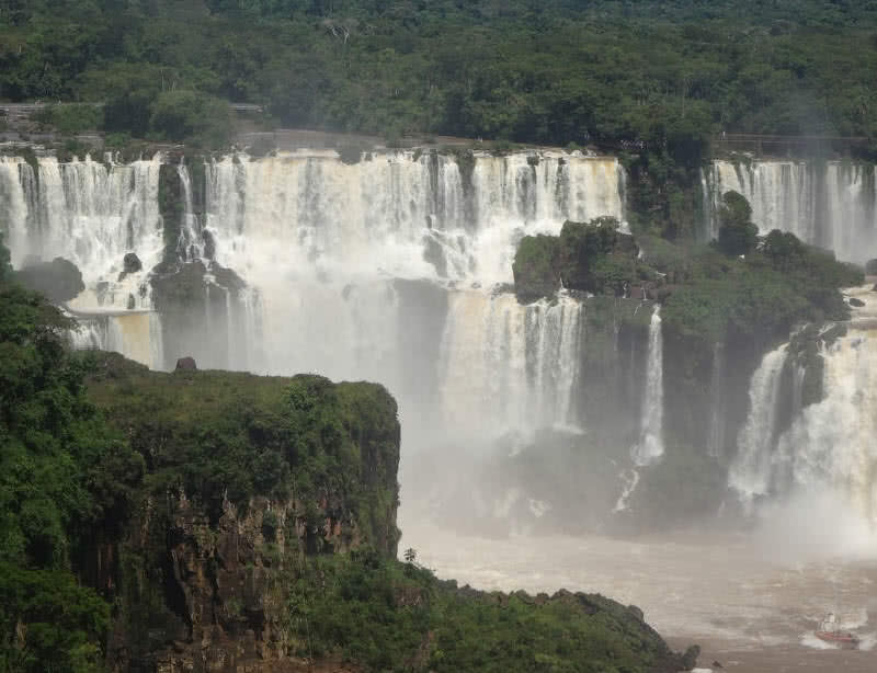 Iguazu-Falls, Argentina-Brazil border