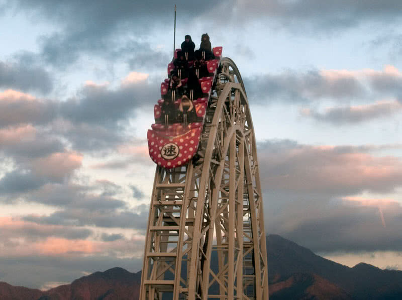 غواصی dodonpa coaster