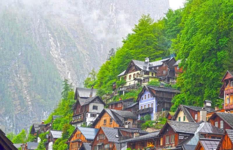 زیباترین روستاهای اروپا